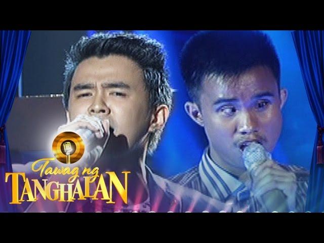 Tawag ng Tanghalan: Ken Mariscal vs Carlmalone Montecido