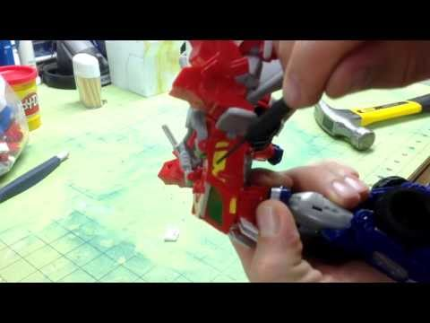 How to Install Customs By Z Shapeways Transformers Beast Hunters Optimus Prime Head