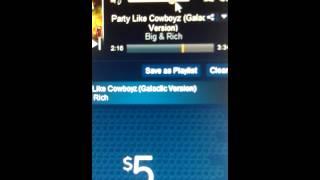 Watch Big  Rich Party Like Cowboyz Galactic Version video