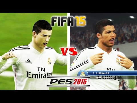 FIFA 15 vs. PES 15: Celebrations