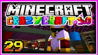 Minecraft CRAZY CRAFT 3.0 SMP: BAZOOKAS & MACHINE GUNS!!! - Ep 29