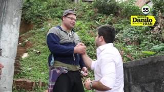Cajamar Danilo Joan Prefeito 55 - CAMINHADA 22 08 16 JARDIM MURIANO