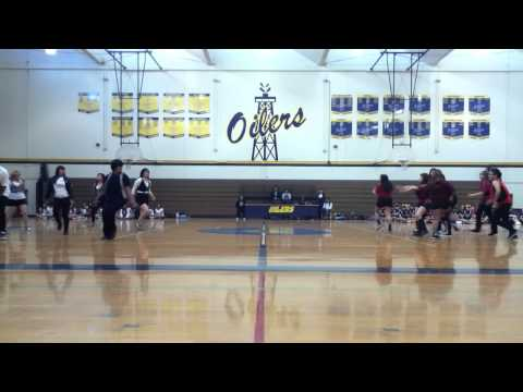 Montebello High School dance team-  8th grade orientation 11'