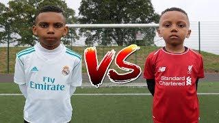 RONALDO vs MOHAMED SALAH FOOTBALL CHALLENGE!!