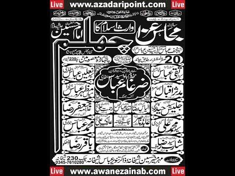 Live Majlis 20 Safar 2017 Chak Sheikhana Jhang