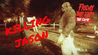 Killing Jason Easily!! (Friday the 13th: The Game Part 1)