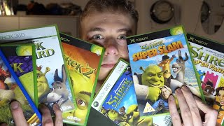 My Shrek Video Game Collection