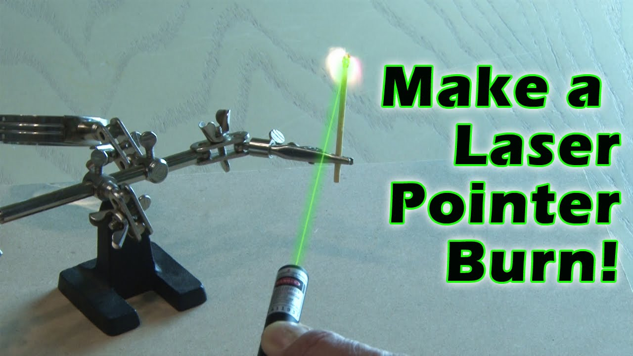 How to Make a Burning Laser