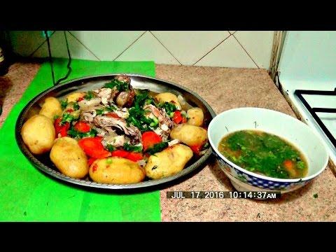 Рагу из овощей и курицы легко и просто