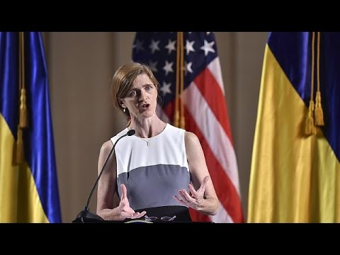 Samantha Power a los ucranianos: