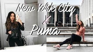MY FIRST TIME IN NEW YORK CITY | TRAVEL VLOG