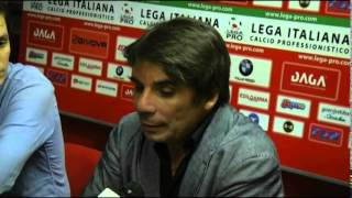 MANTOVA   AREZZO conferenza post partita di mister CAPUANO