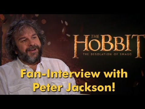 PETER JACKSON talks to Fan about THE HOBBIT: THE DESOLATION OF SMAUG | Exclusive Interview