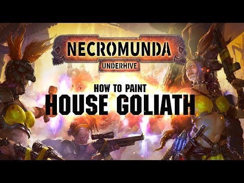Necromunda: How to paint House Goliath.