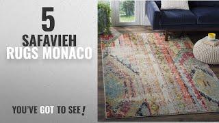 Top 10 Safavieh Rugs Monaco [2018]: Safavieh Monaco Collection MNC222F Modern Bohemian Multicolored