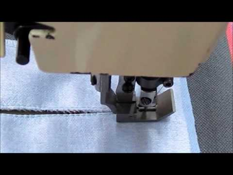 Central cutting device for Brother twin needle sewing