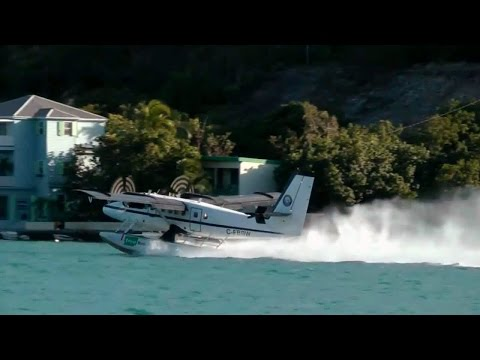 Seaborne Seaplane flight from St. Thomas to Sct. Croix
