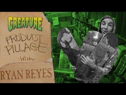 Ryan Reyes Ransacks Creature Headquarters