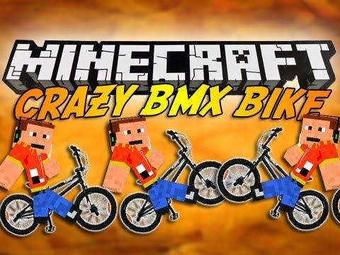 Bikes Mod Minecraft Minecraft CRAZY BMX BIKE Mod