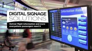 Rockwell Collins ARINC Digital Signage Solutions