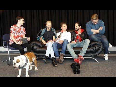 Tokio Hotel Interview on @ESKA_pl Radio by Robert Choiński Berlin, Germany