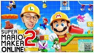 🔴 Das BESTE MARIO LEVEL bauen! SUPER MARIO MAKER 2 ONLINE