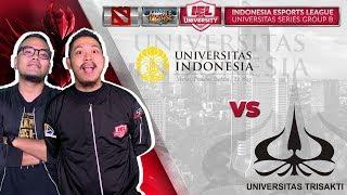 UNIVERSITAS INDONESIA VS UNIVERSITAS TRISAKTI W/ COKI & TRETAN @IEL 2019: University Series