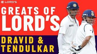 Rahul Dravid & Sachin Tendulkar - Greats of Lord's