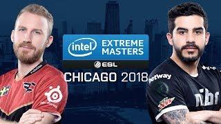 CS:GO - FaZe vs. mibr [Cache] Map 1 - Group A UB Ro2 - IEM Chicago 2018