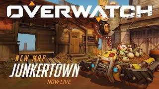 [NOW PLAYABLE] Junkertown | New Escort Map | Overwatch