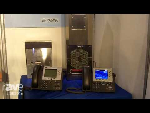 ISE 2016: Valcom Displays IP Emergency Phones