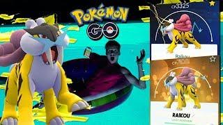 Raikou fangen! im Pool • Pokémon Go deutsch