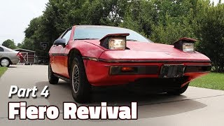 Blink Once If Your Headlights Go Up and Down | 1985 Fiero 2M4 Revival - Part 4