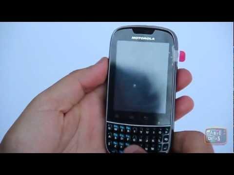Review Celular Smartphone Motorola XT317 DUAL SIM com Android 2.3 e teclado QWERTY