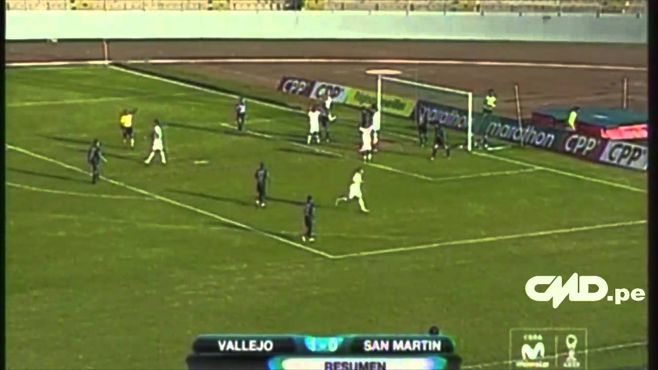 Univ.Cesar Vallejo 1-0 Dep.San Martin