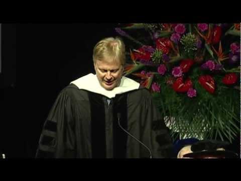 Undergraduate Commencement 2012 | Tom Ashbrook