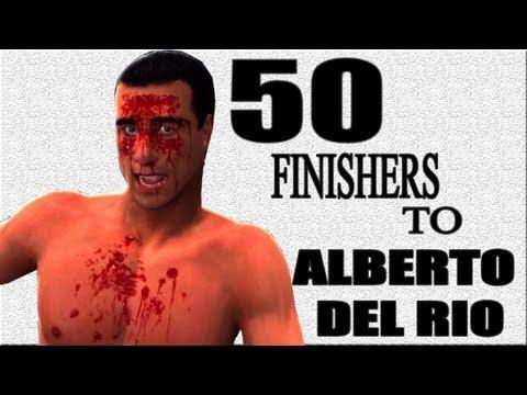 WWE 13 | 50 Finishers To Alberto Del Rio