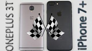 OnePlus 3T vs iPhone 7 Plus Speed/Multitasking/Heat Test!