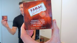Tabac Shaving Soap - Shave Review