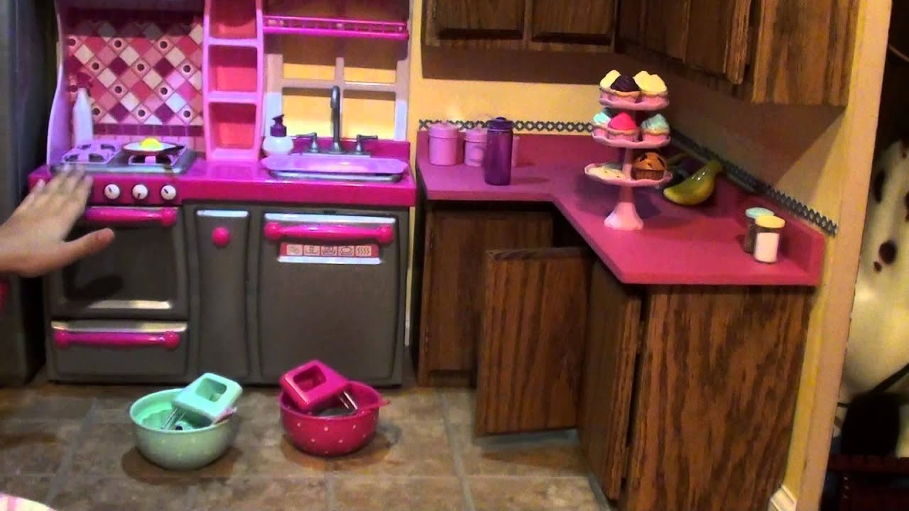 Lindsay Nagy American Girl House Tour Part 3 My Kitchen