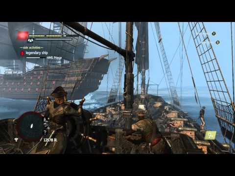 Assassin's Creed 4 Black Flag - Legendary Ship Battle - HMS Prince