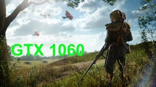 Benchmark GTX 1060 6GB in Battlefield 1 FPS
