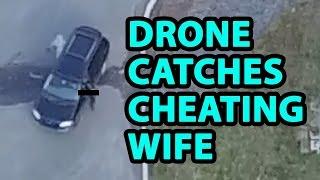 Il surprend sa femme avec son amant grâce à son drone
