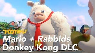 Mario + Rabbids Kingdom Battle Donkey Kong DLC Gameplay, E3 2018