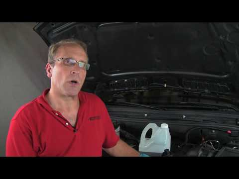 Flushing & Replacing Engine Coolant in a BMW/MINI