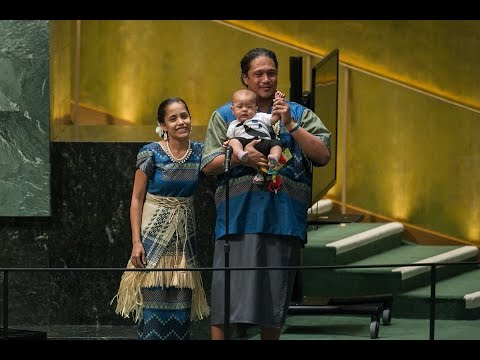 Statement and poem by Kathy Jetnil-Kijiner, Climate Summit 2014 - Opening Ceremony