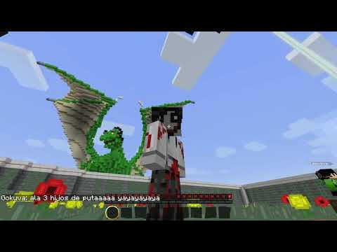 MINECRAFT HUNGER GAMES: BATALLA EN EL ESTADIO DE HOCKEY