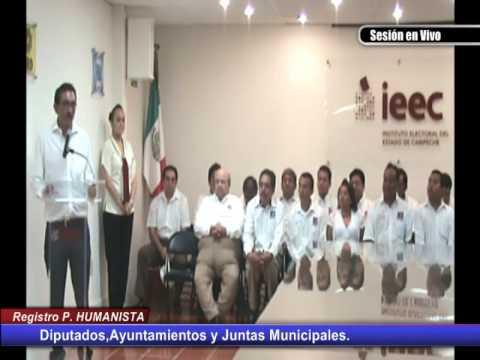 Registro del Candidatos a Diputados,Ayuntamientos y Juntas Municipales Partido Humanista