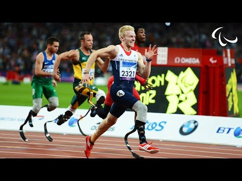 Athletics - Men s 100m - T44 Final - London 2012 Paralympic Games