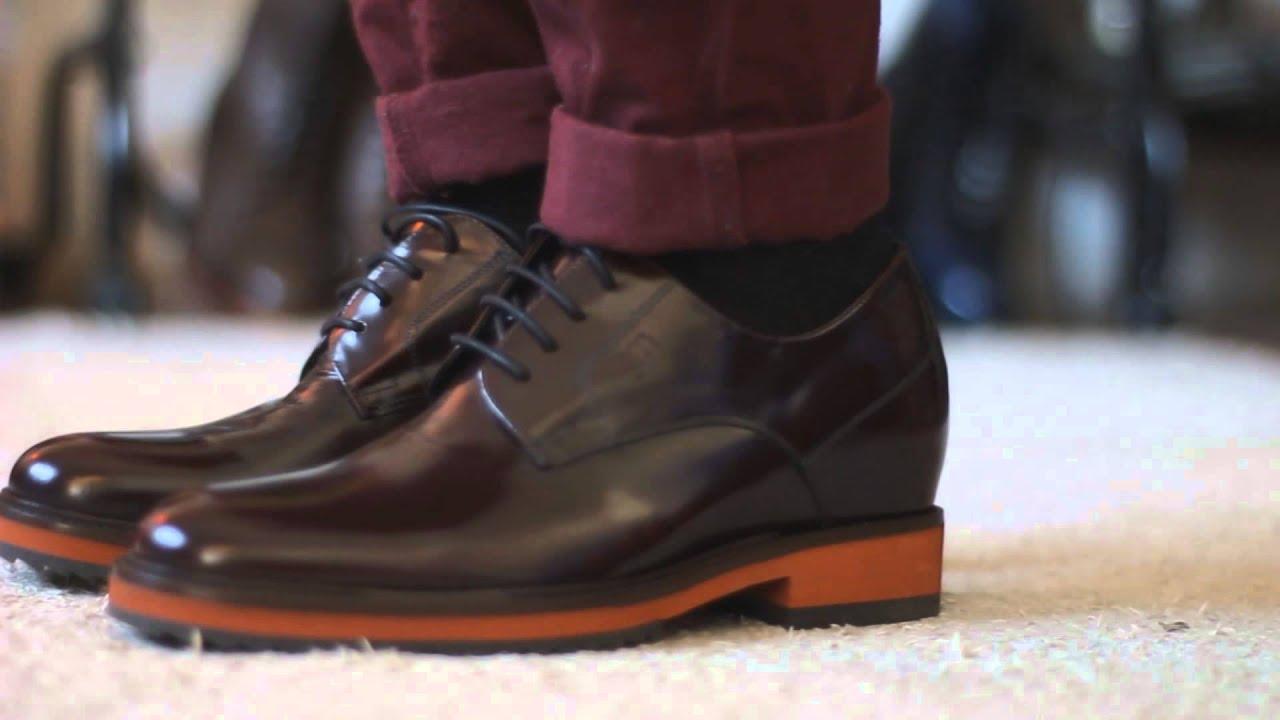 Scarpe Matrimonio Uomo Tacco : Scarpeconrialzo l ultima collezione di scarpe con